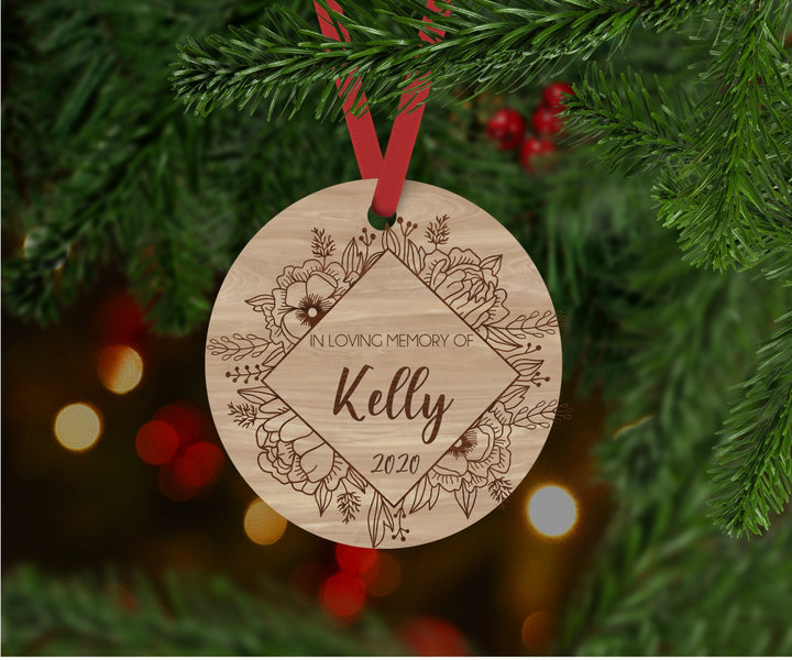 Personalised Memorial Ornament