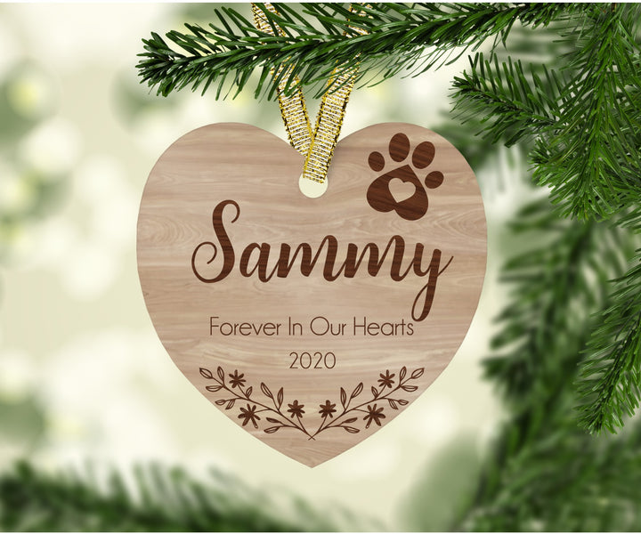 Dog Memorial Ornament