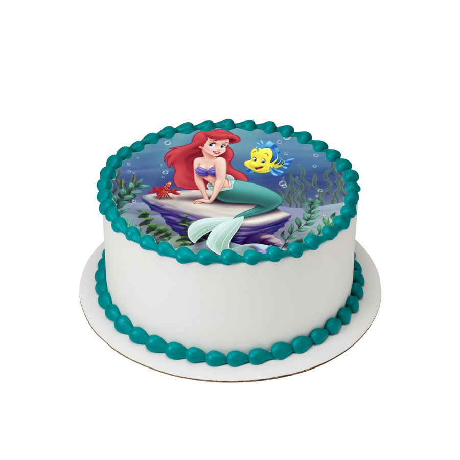 The Little Mermaid Edible Icing Image