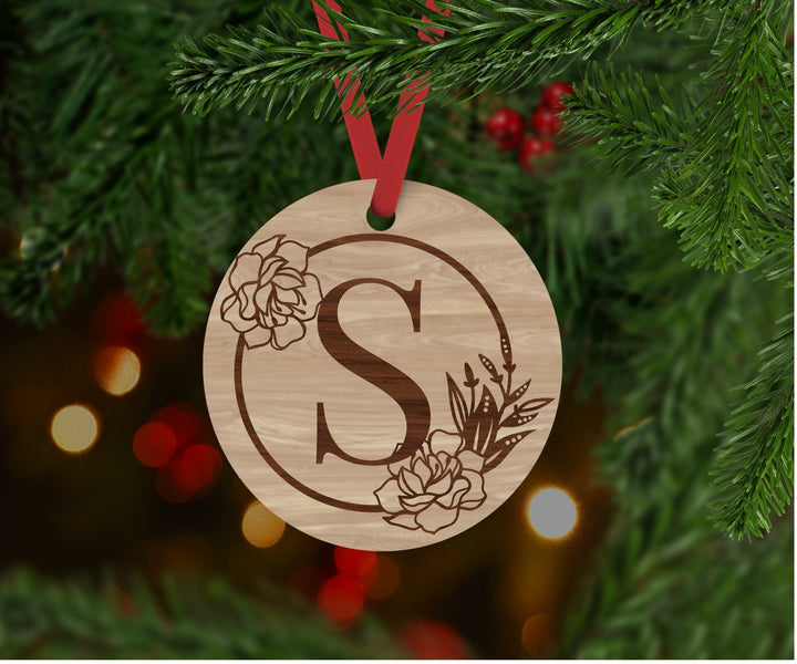 Personalised Monogram Christmas Bauble