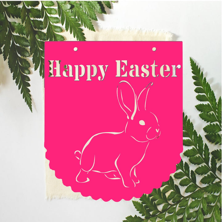 Happy Easter Sign - Aston Blue