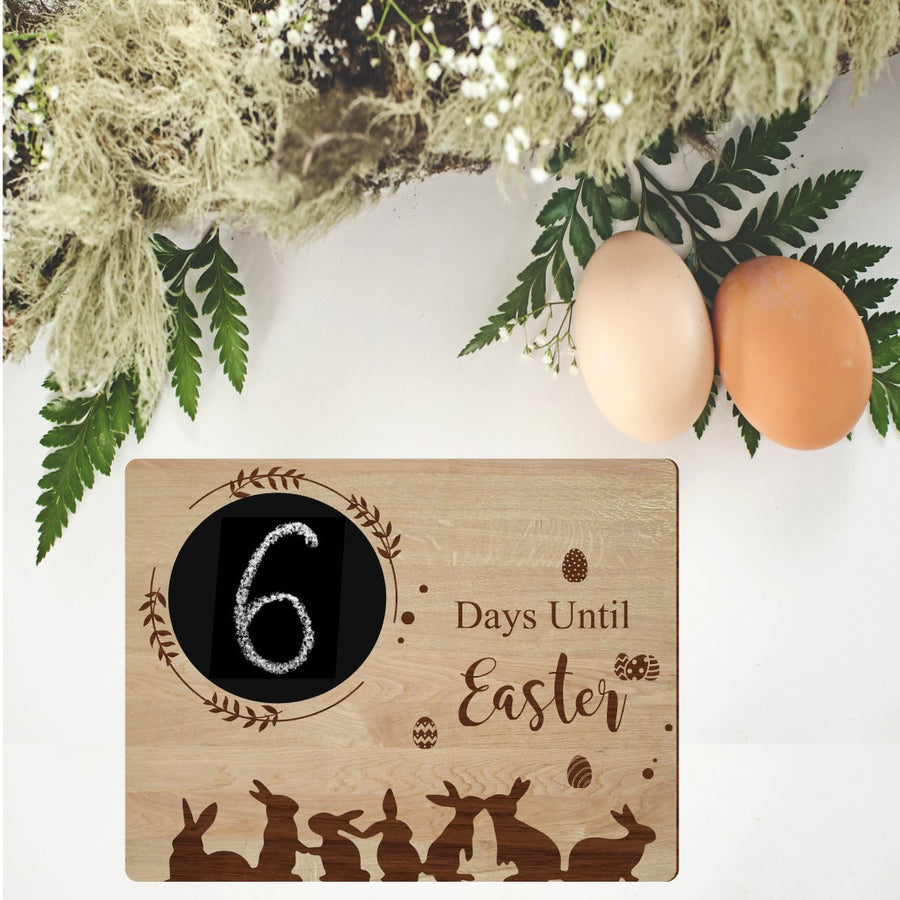 Easter Count Down Board - Aston Blue