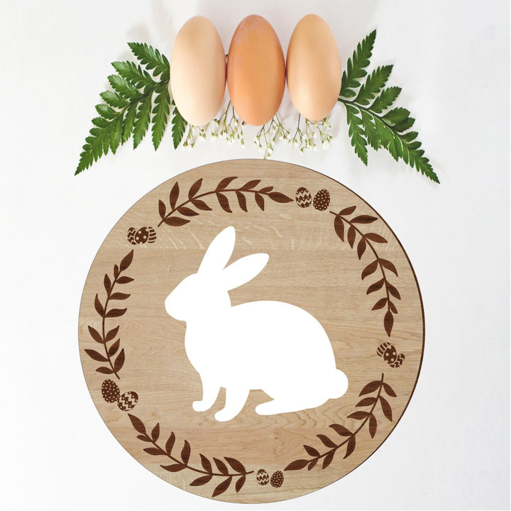 Easter Bunny Sign - Aston Blue