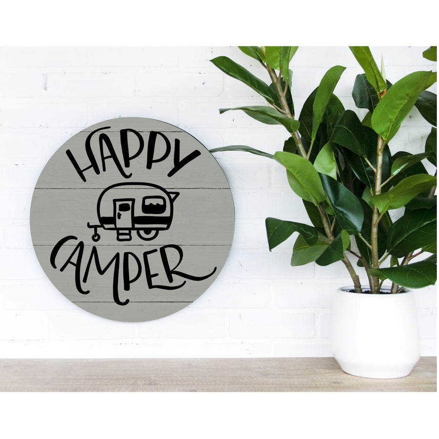 Happy Camper Pallet Sign