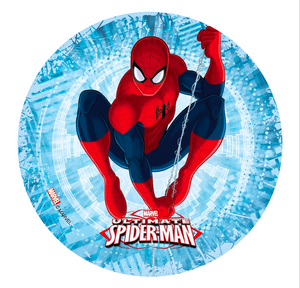Spiderman Edible Icing Image