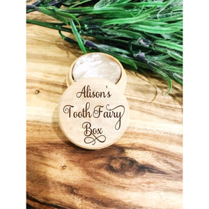 Personalised Tooth Fairy Box - Aston Blue