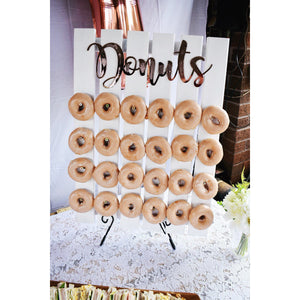 Donuts Sign - Aston Blue
