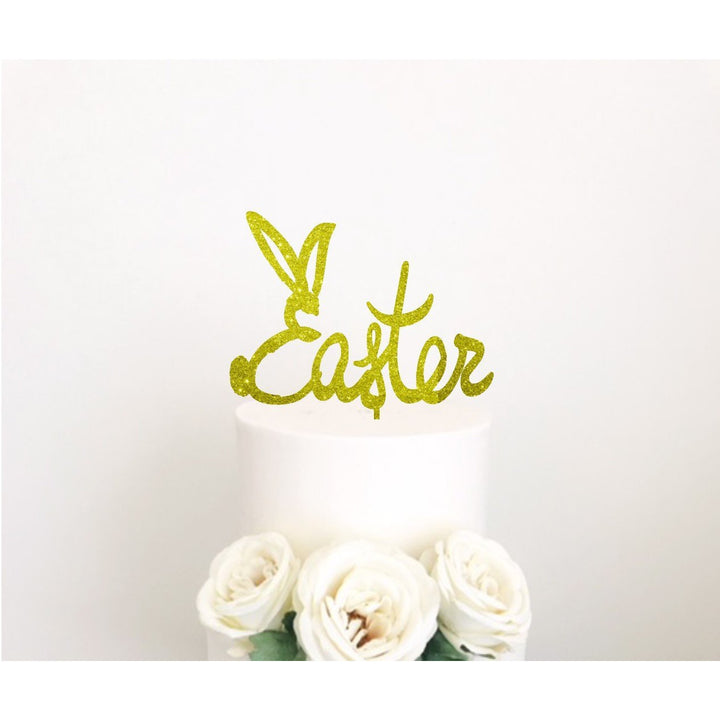 Easter Cake Acrylic topper - Aston Blue