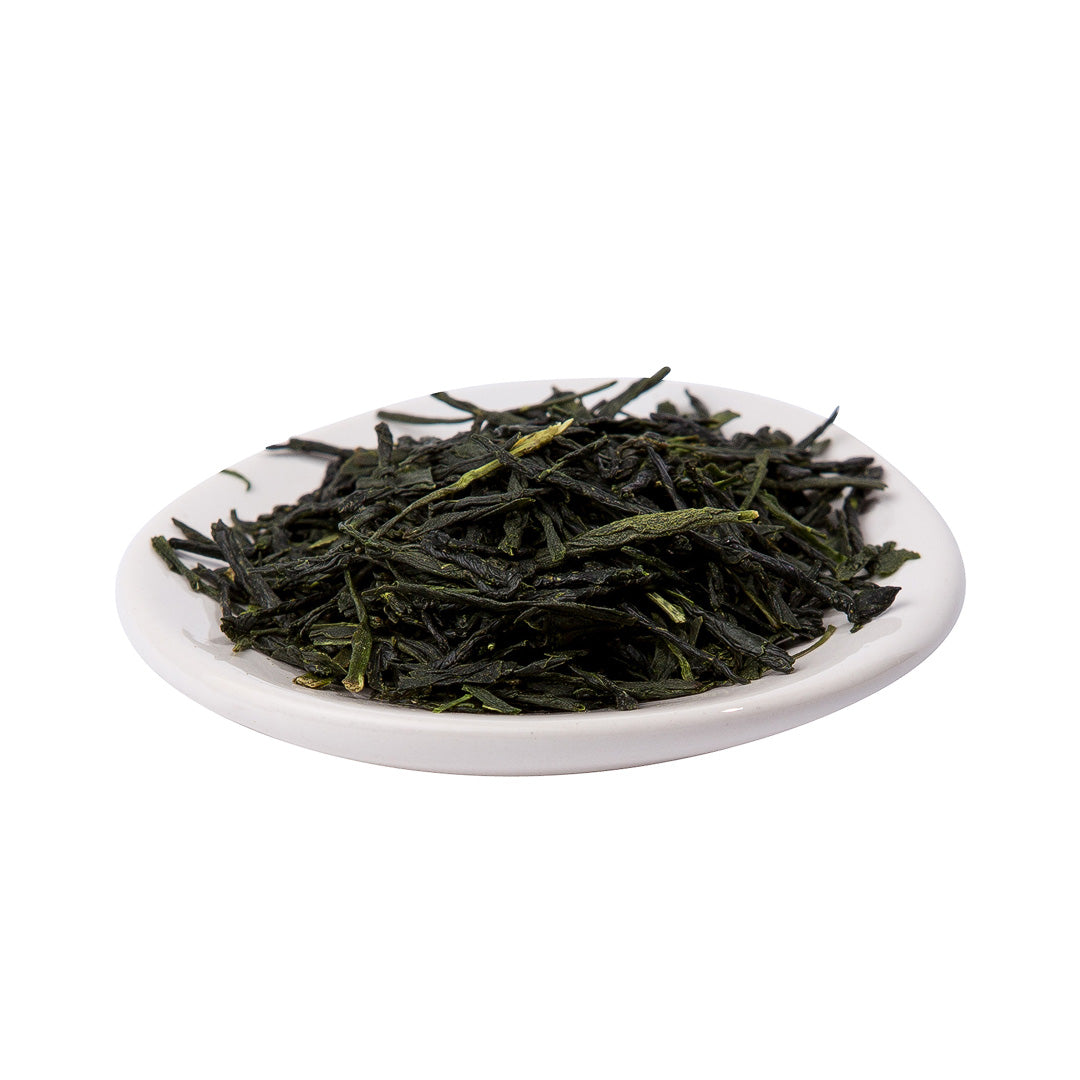 shincha tea on platter