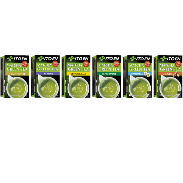 Matcha Green Tea Value Pack