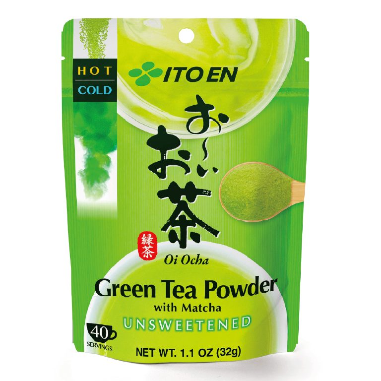 Oi Ocha Sarasara Green Tea Powder with Matcha 32g