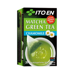 Matcha Green Tea Chamomile
