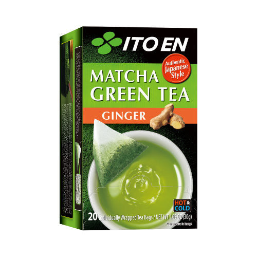 Matcha Green Tea Ginger