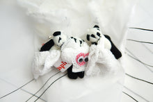 1Panda Small Doll Brooch・パンダブローチ1個
