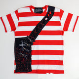 Red and White T-shirt・赤白ボーダーTシャツ