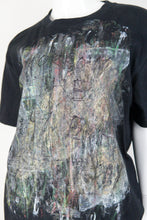 【Tomorrow Is The Same As Yesterday】Art Paint T-shirt・ペイントTシャツ