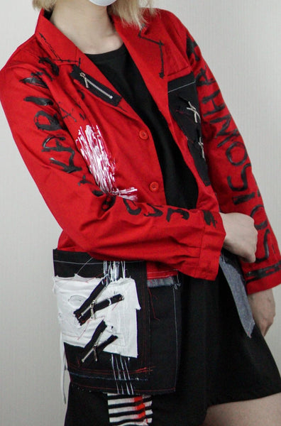 Paint Red Jacket・赤ジャケット