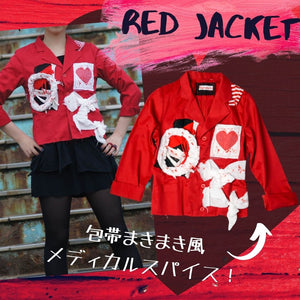 Bandages Red Jacket・赤ジャケット