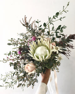 Bridal Bouquet - Natives