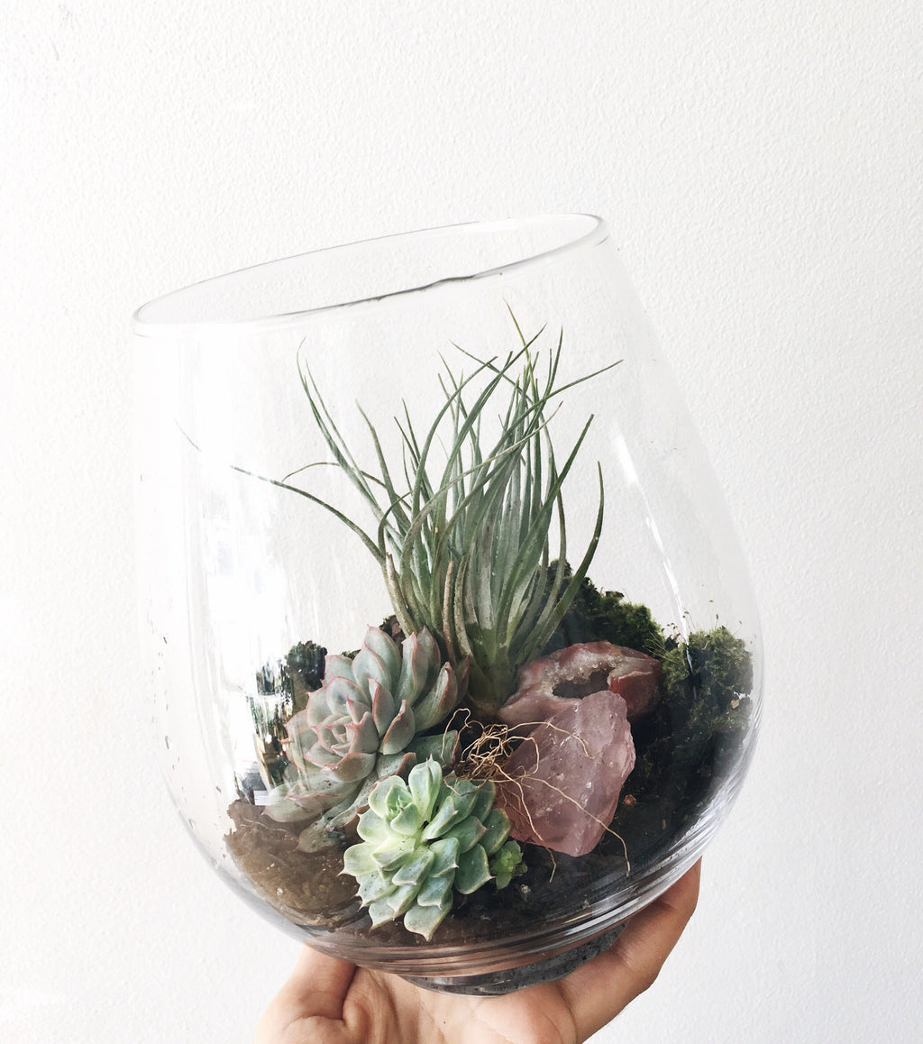 Crystal Terrarium Workshop 1 on 1