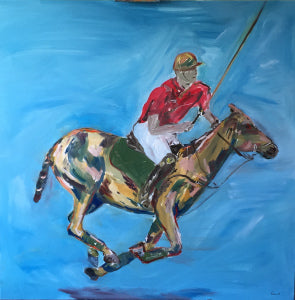 Galloping Pony .. Oil on Canvas. Fore sale