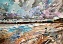 Filey Beach - North Yorkshire - sea painting