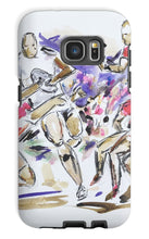 The Fight to Control the Ball - Rugby Print Phone Case