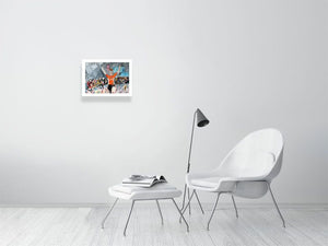 GUARNIER WINS AND ON HER BIRTHDAY! Limited edition print