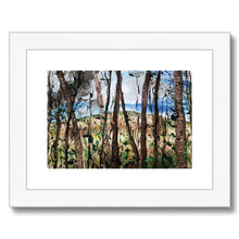 In the forest Framed & Mounted Print