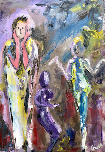 Dance Painting - Garth Bayley Art