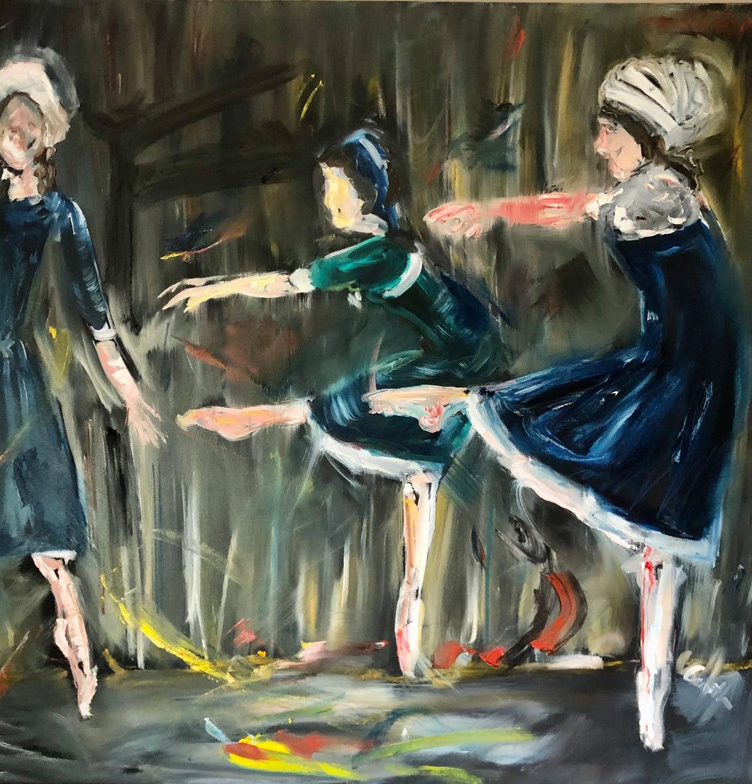 The Crucible - Dance Painting