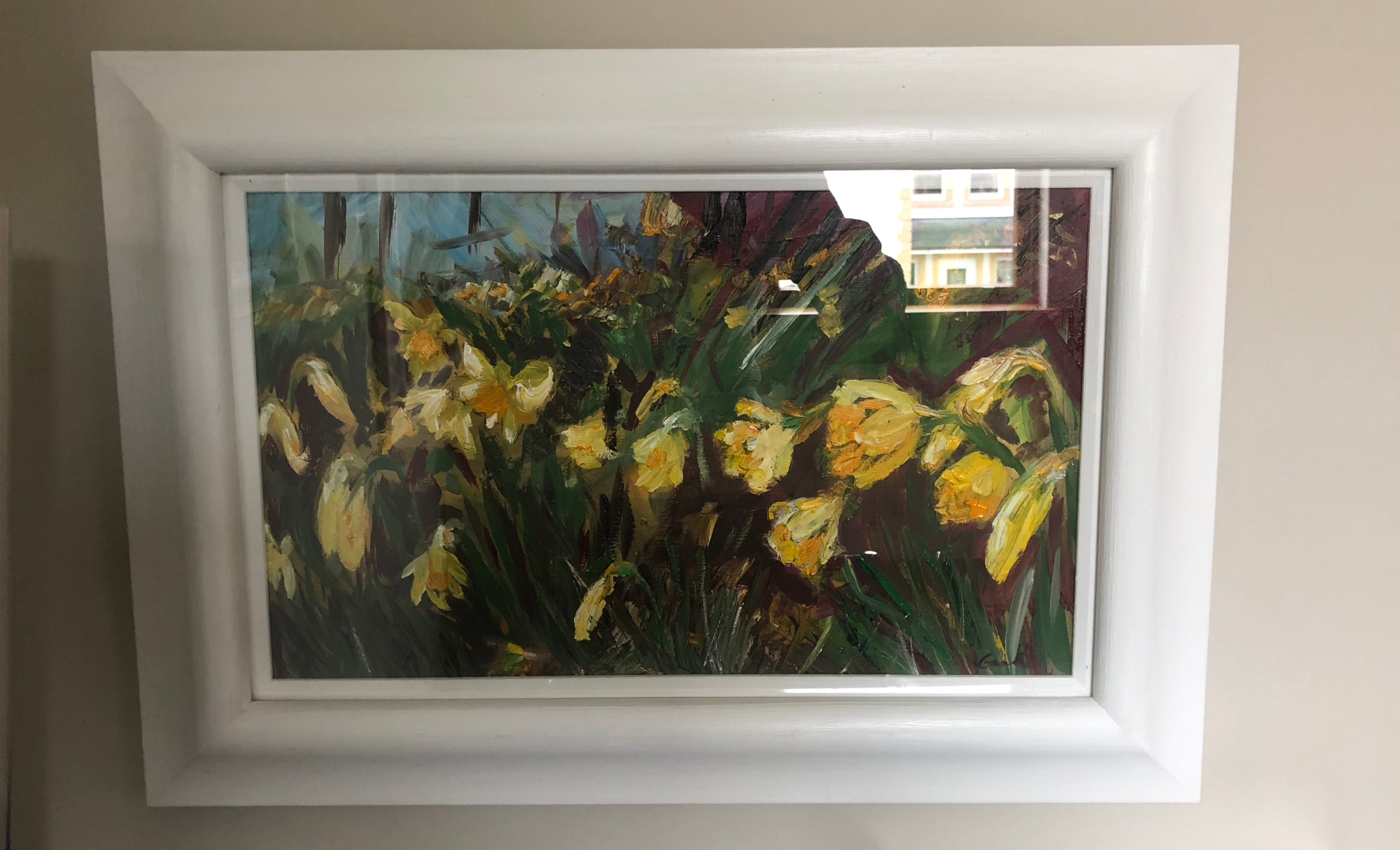 Daffodils Blowing in the Breeze