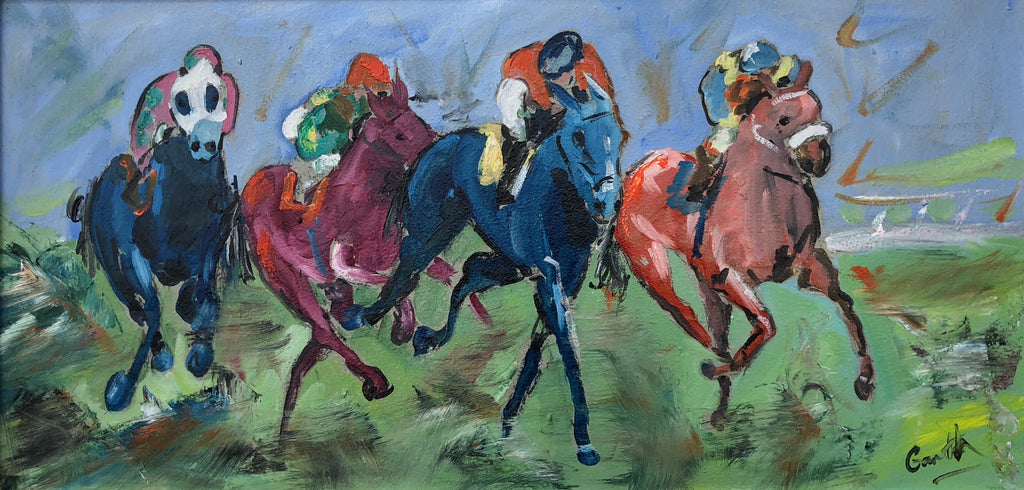 Horse Racing artwork