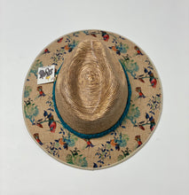 Load image into Gallery viewer, Sombrero Oscuro Colibris Turqueza