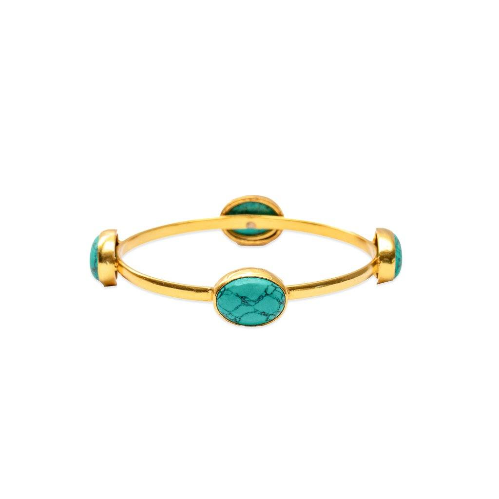Amanda bracelet in turquoise - Bangle