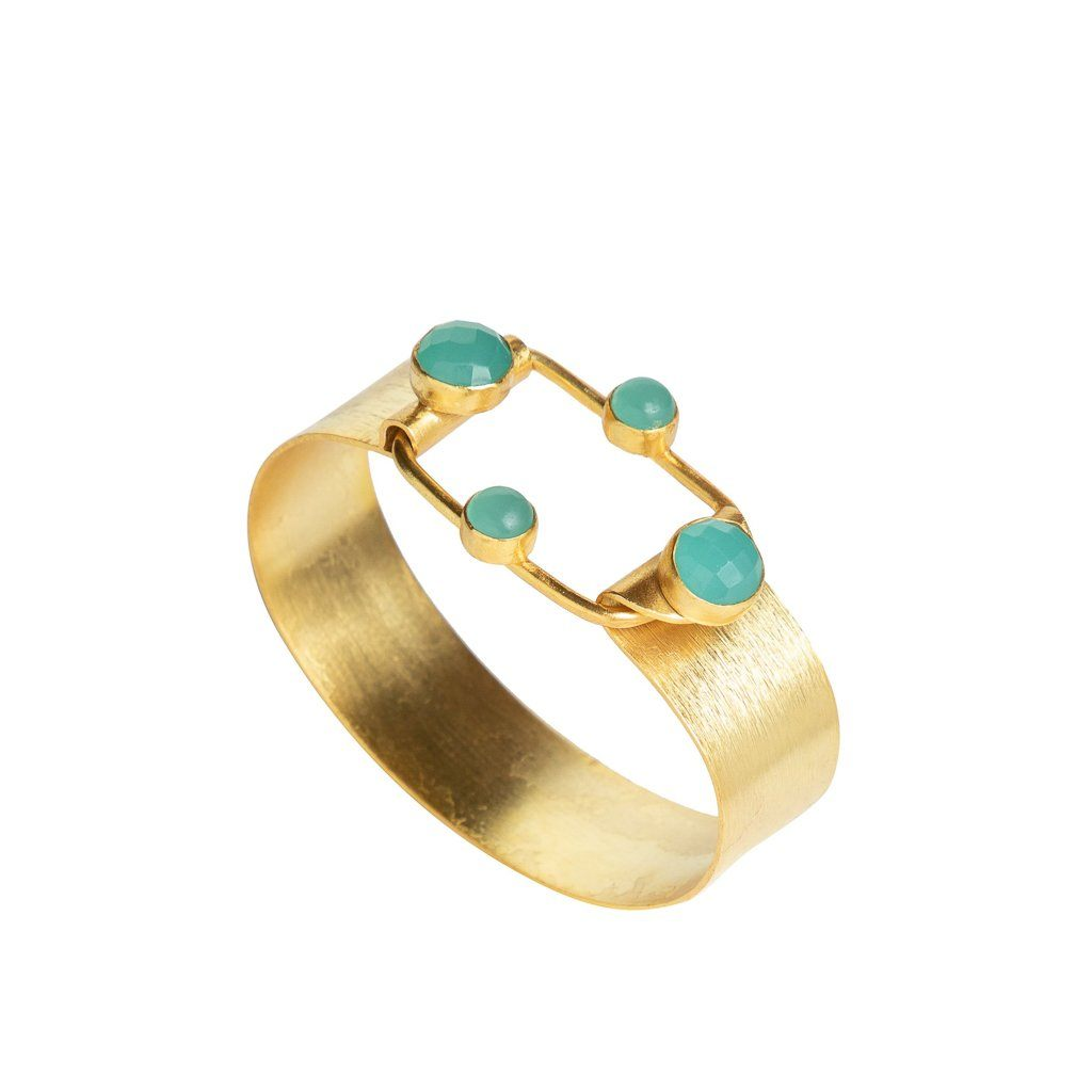 Verona one-size cuff in Aqua - cuff