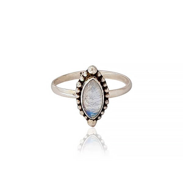 Santa fe eye ring in moonstone