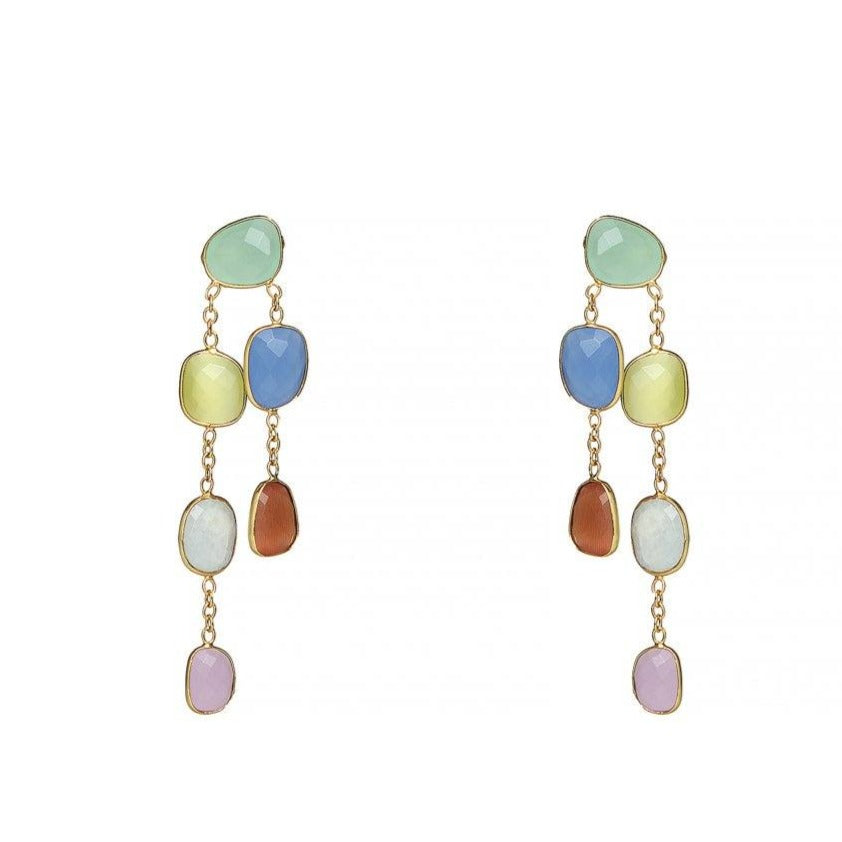 Titania drops in multi-colour - Statement Pieces