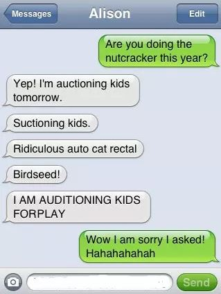 ridiculous cat rectal autocorrect fail
