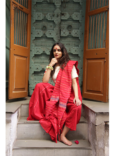Saree - Khesh Skirt Saree - Prathaa