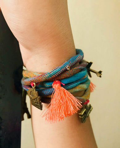 Accessory - Stacking Bracelet / Anklet - 2 in 1 - Prathaa