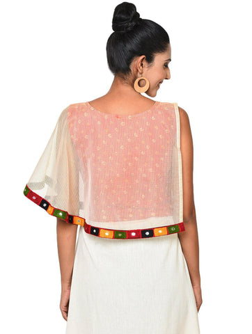 Top - Cape Crop Top - Prathaa