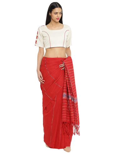 Off-white Khadi Princess Blouse