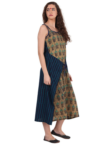 Dress - Two Way Overlap Dress - Prathaa