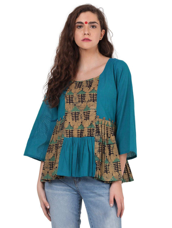 Dress - Patch Top - Prathaa