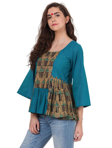 Dress - Batik Patch Top - Prathaa