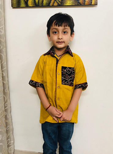 Kala Cotton Boy Shirt