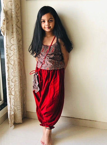 Kala Cotton Kids Dhoti Pant