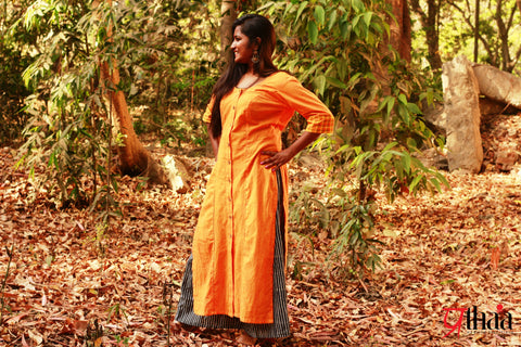 Dress - Long Solid Tunic - Prathaa