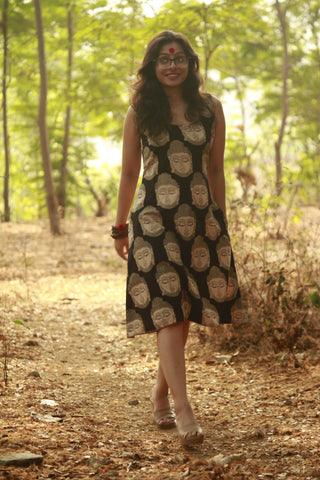 Dress - Buddha A-Line Dress - Prathaa